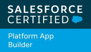 Salesforce Platform App Builder certification